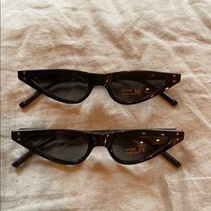 Bad bunny tiny fashion sunglasses